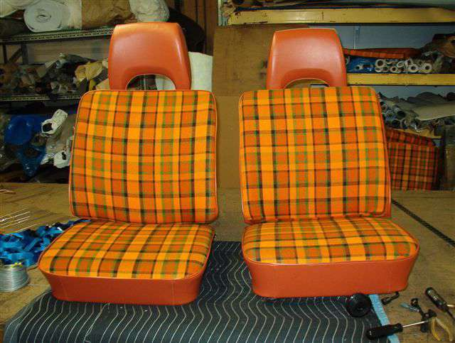 68 76 Bus Seats Volkswagen Bus Seat Installation Vw