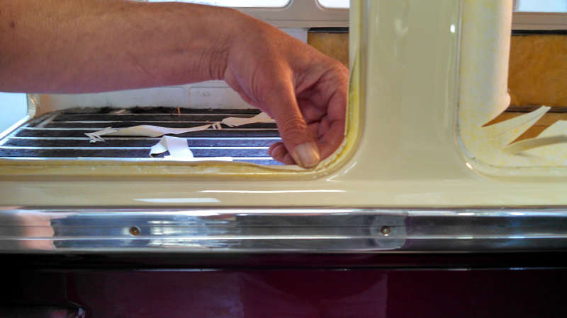 Split Window Trim Headliner Install Vw Split Window Bus