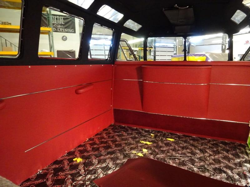 Volkswagen Bus Interiors Gallery   VW Bus Interior   Custom Interior VW Bus   Sewfine Interior ...