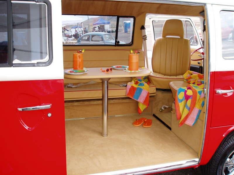 Barry's VW Bus Custom Interior & Restoration | Volkswagen Bus Custom Interior | Sewfine Interior ...