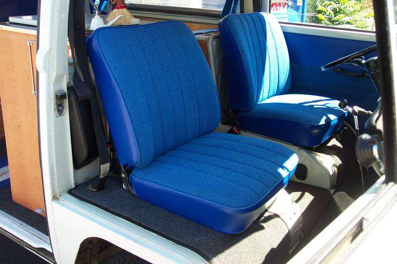 Outstanding 68 76 Bus Seats Volkswagen Bus Seat Installation Vw Bus Caraccident5 Cool Chair Designs And Ideas Caraccident5Info