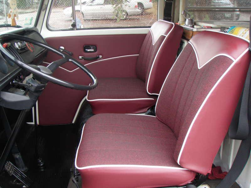 68 76 Bus Seats Volkswagen Bus Seat Installation Vw