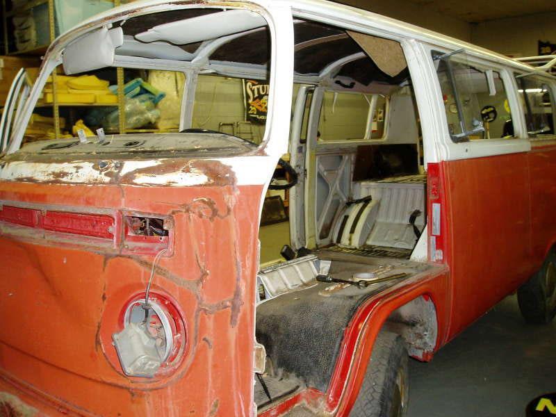 Barrys VW Bus Custom Interior Restoration