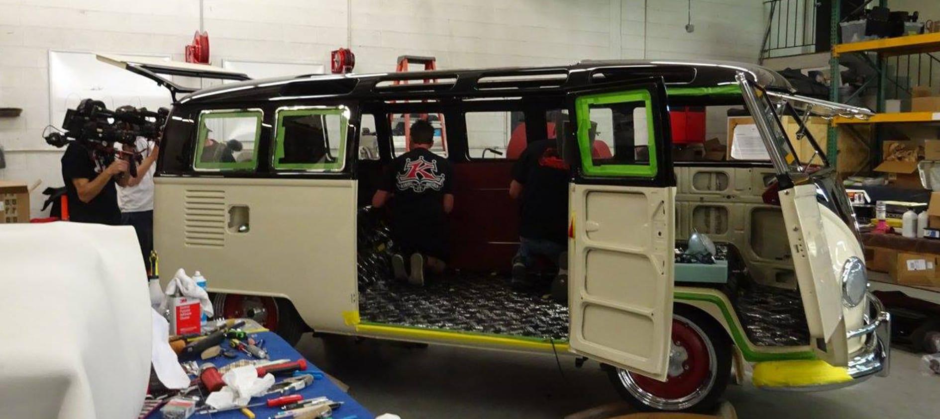 Bus Custom Interiors Custom Vw Bus Interior Sewfine Interior Products